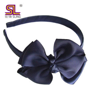ribbon bow kids hairband flower headband for hair accessories
