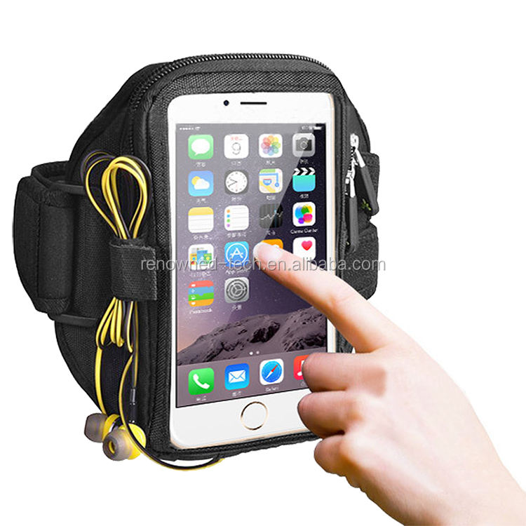 Popular Outdoor Neoprene Running Sports Cellphone Armband For Iphone 8&HTC One,Lazy Arm Phone Holder,Jogging Pouch/Case