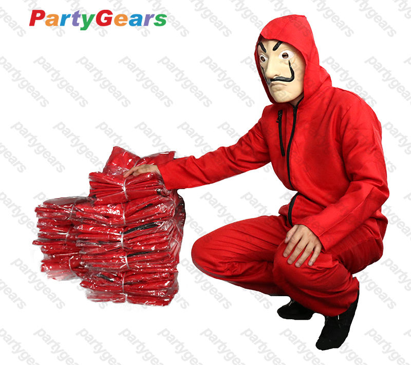 La Casa De Papel Clothes Salvador Dali Cosplay Costume