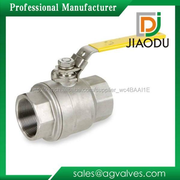 Meilleure vente prix bas forgé npt acier nickelé levier poignée two way laiton sharpe ball valve inoxydable pour pétrole gaz eau