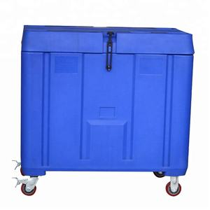 350L rotomolded coolers box ice chest with wheels