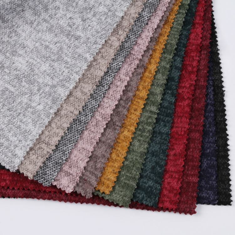 Fabric Polyester Fabric Latest Cheap TR Brushed Polyester Rayon Hacci Knitted Fabric