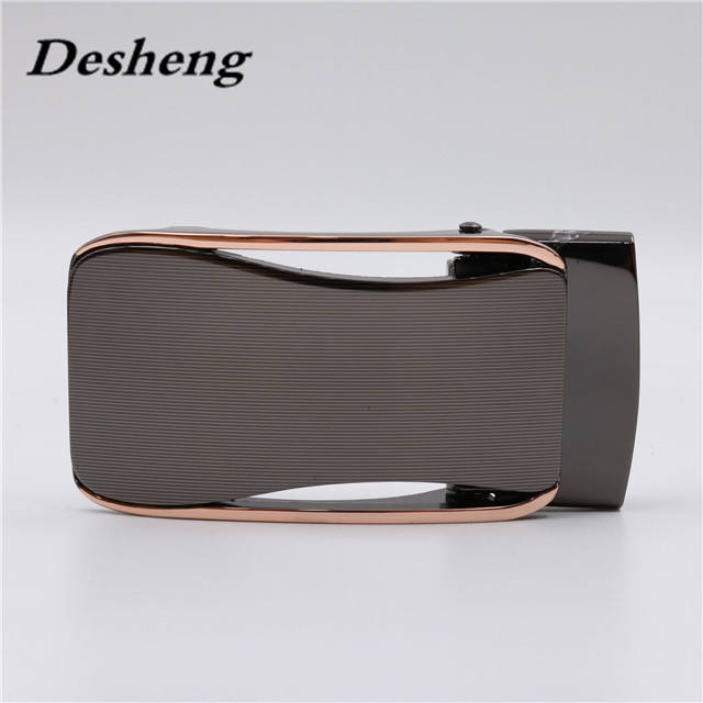 Laser Pattern Toothless Two-joint Automatic Belt Buckles