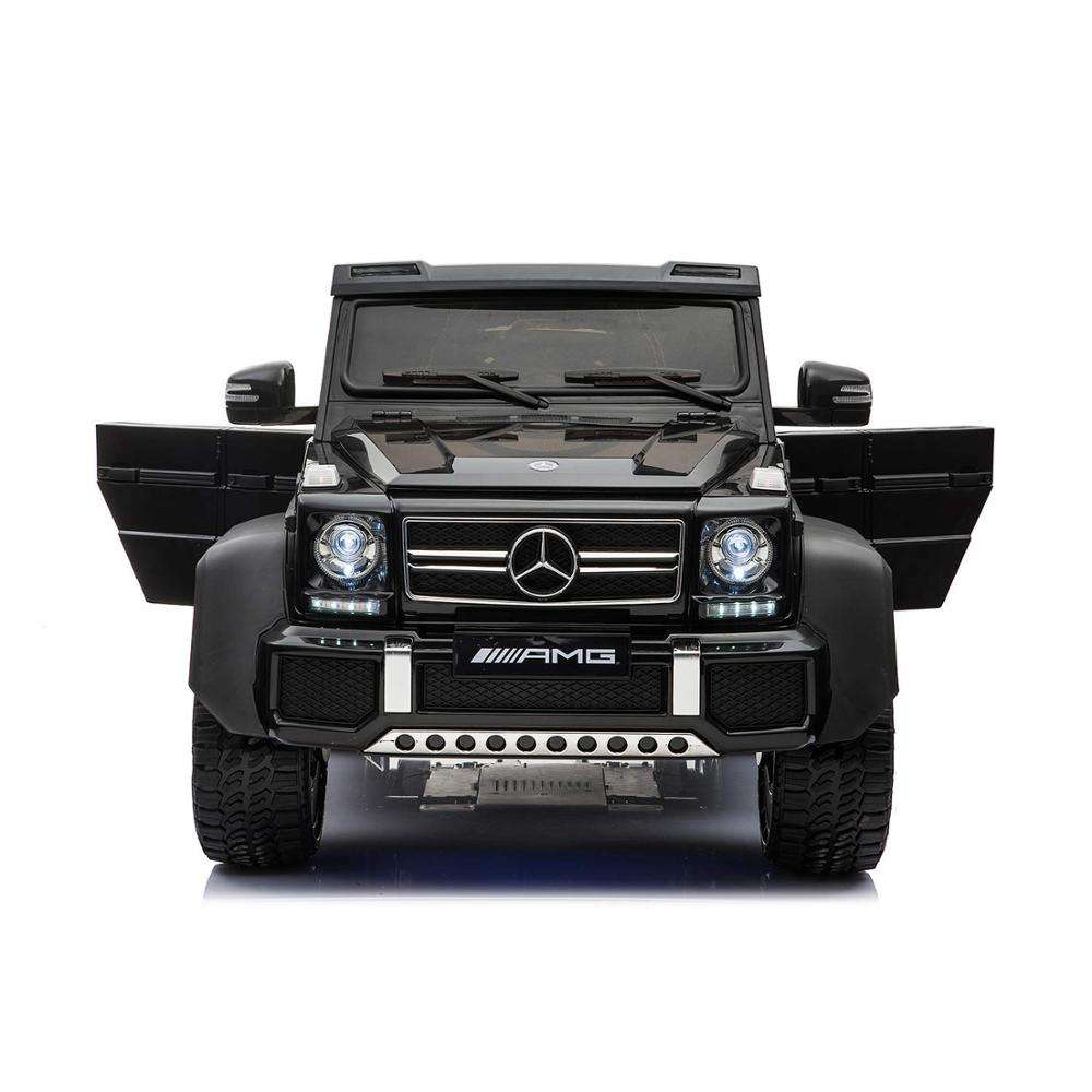 Licensed Mercedes Benz AMG G63 6x6 Electric Ride On Car for Kids with 2.4G with Remote Control 6*Motors Parent Seat