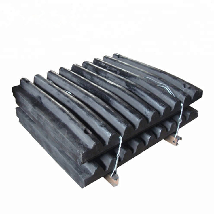 Mining machinery jaw crusher plate spare parts
