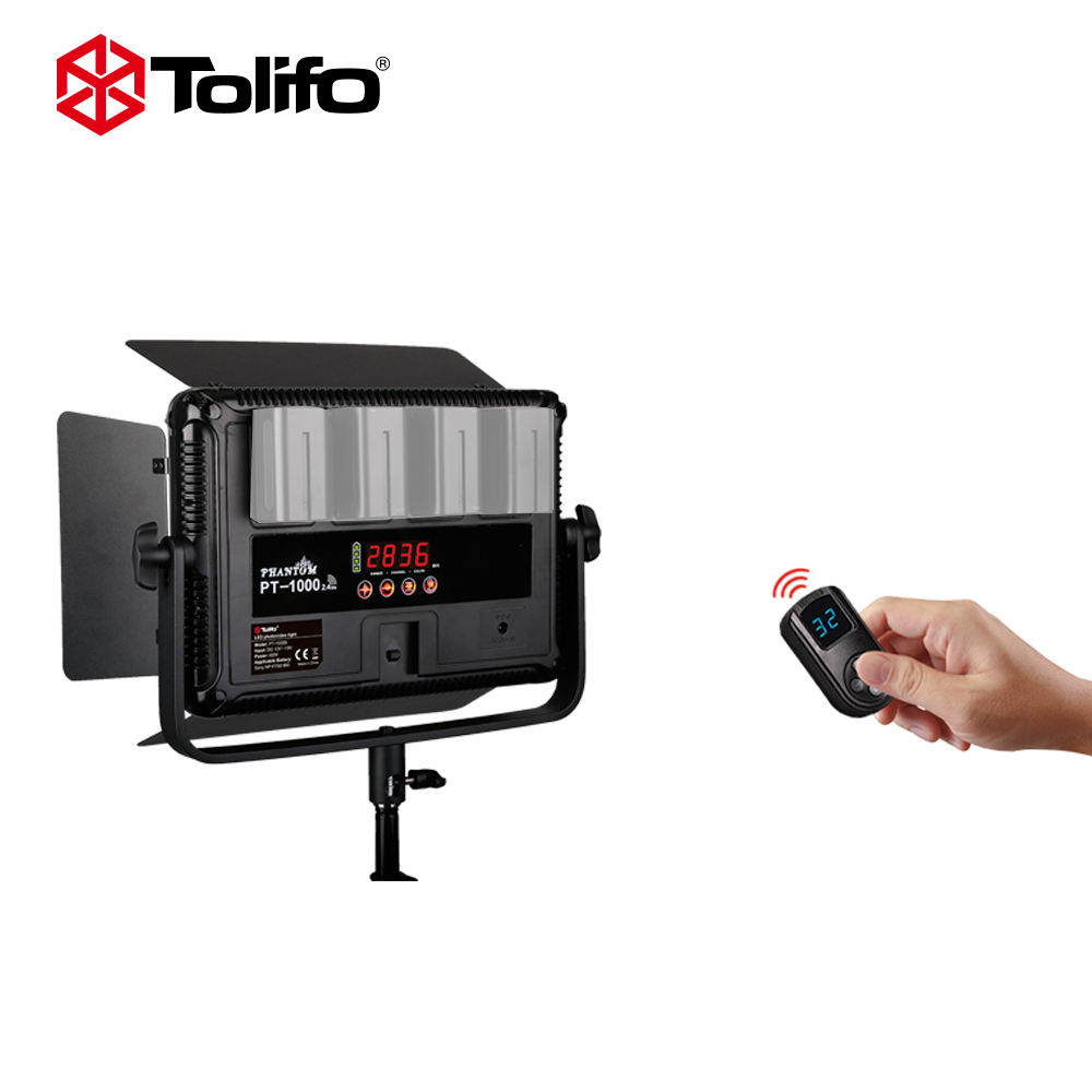 China Professional Tolifo Photography Equipment 60W LED Camera Video Light