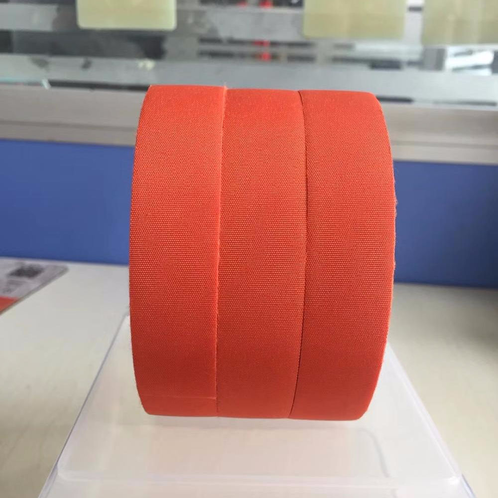 Orange Polyester Fabric Tape for automotive wire harness and cables new energy vehicles aotumobile