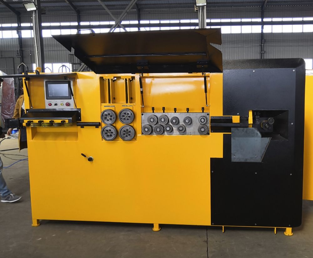 Reinforcing steel bar bending machine, 2d cnc wire bending machine, Chinese automatic stirrup bending machine factory