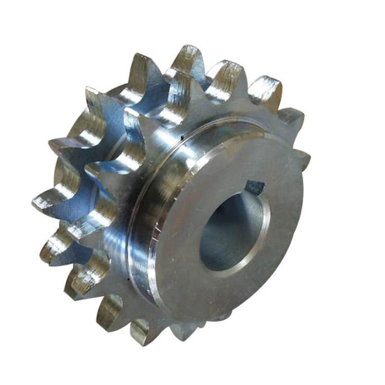 Customized Ermostability C2100 C2120 Stainless steel Industrial transmission double row sprocket