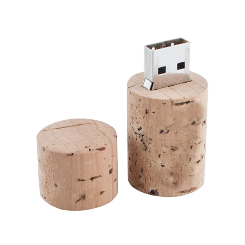 China Factory Cheap Bulk Wood Flash Usb Memory Stick Cork