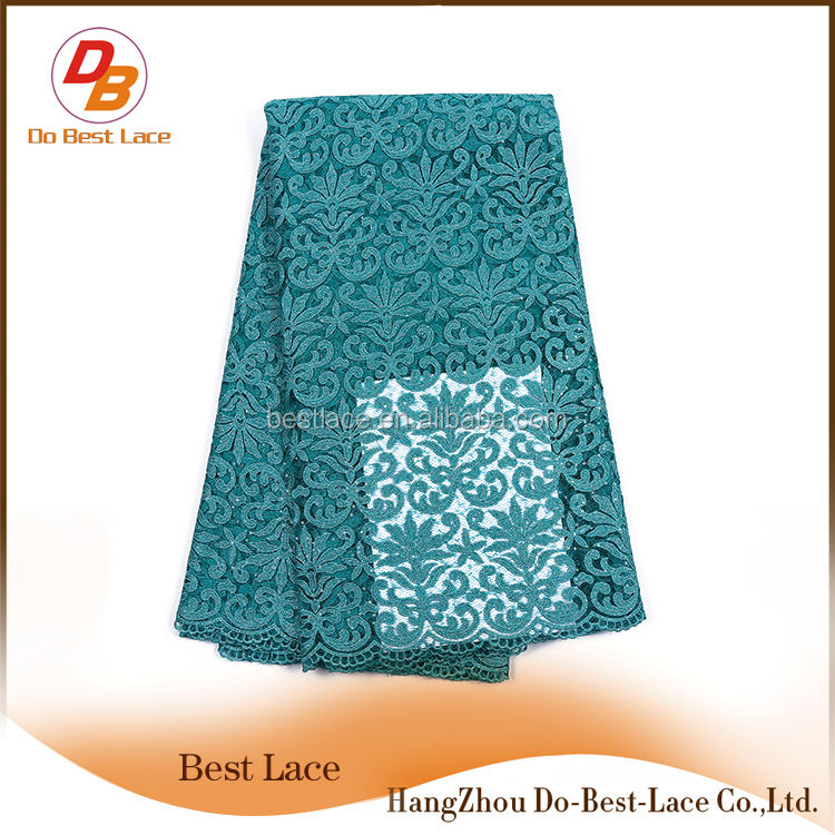 Cheap African Tulle Lace Fabric Flower Korean Design Lady Suits On Sale
