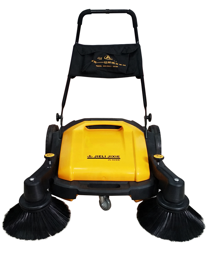 cordless JL920 industrial push sweeper