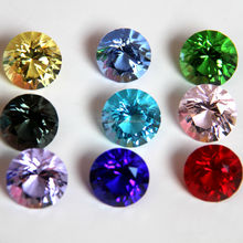 HBL Mixed Color Diamond Brilliant Glass Wholesale Crystal Diamond With Gift Box