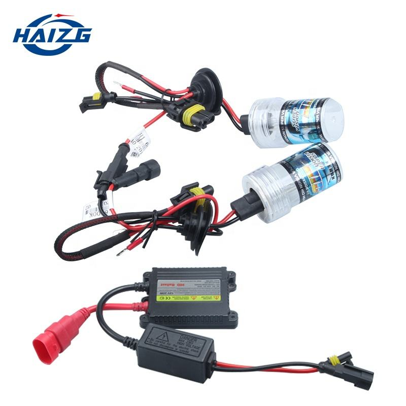 hot sale car led HID xenon HID Bulb H4 H7 HID lighting 35w 55w Hid Kit H4 xenon HID headlights