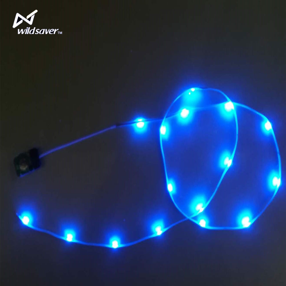 low voltage battery powered top quality durable flexible led flashing string light strip for clothes and bags