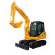 LG6065E widely used rubber tracked mini excavator china excavator