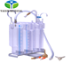 Disposable negative pressure drainage water sealed Chest Drainage Bottle with 3-chambers