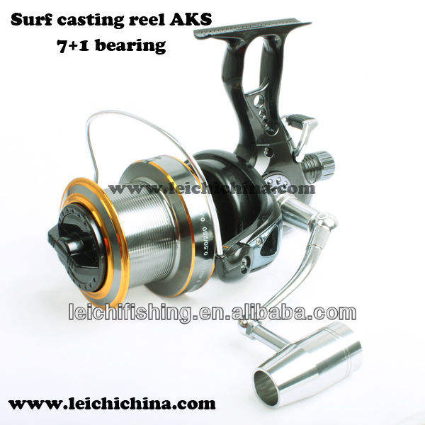 Competitive Price AKS aluminium surf casting reel