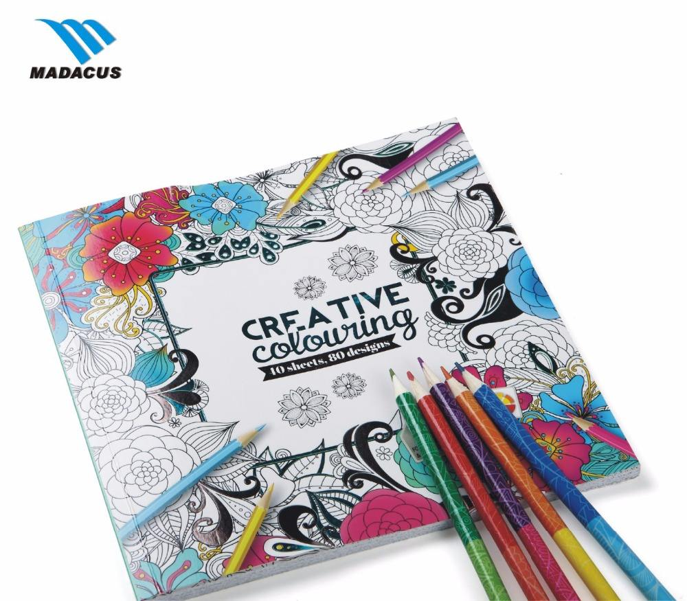 2019 customize printing kids painting colouring activity book for kids