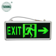wall mounted lasting 120 minutes led fire emergency evacuation safety exit signs
