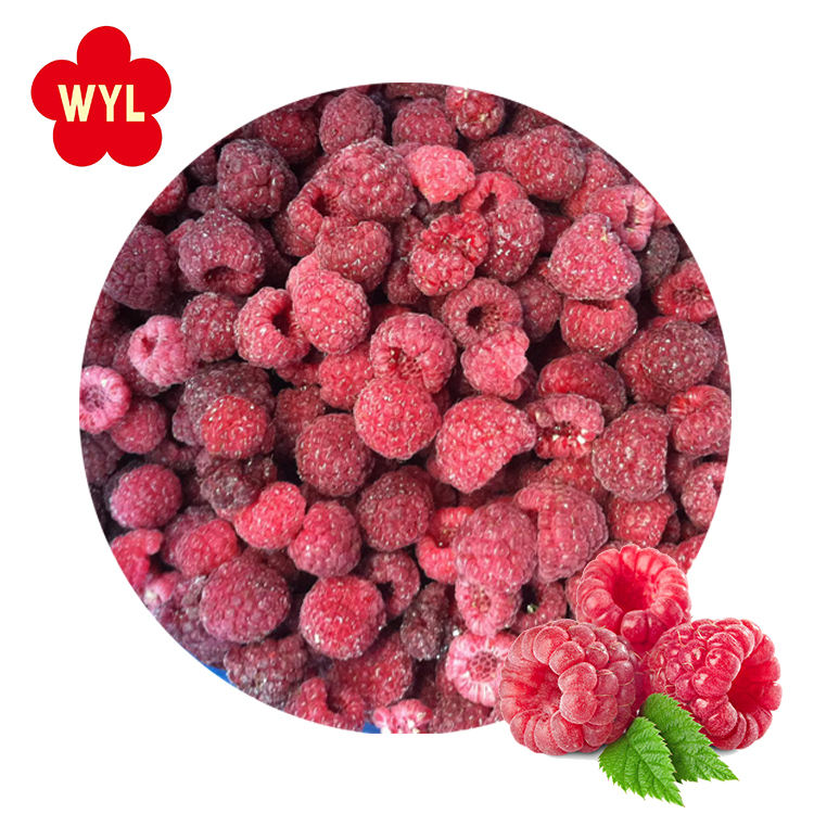 Wholesale china delicious frozen fruit prices raspberries