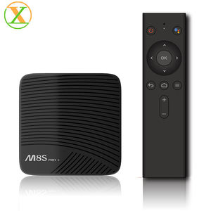 Original Mecool Pro L BT 4,1 sprach remote Xlintek s912 octa-core Android 7,1 Ott tv box