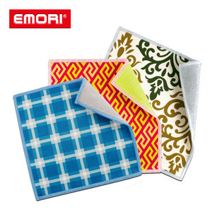 Custom multifunction dual-sided microfiber cleaning wipe rags