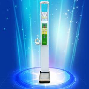 Hot Sell Vending Hospital Coin Operated Medical Weighing Machines With BMI Medical Weight And Height Scale Weight Scale