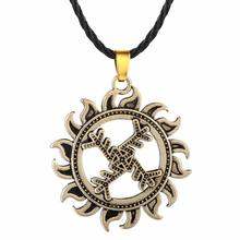 Swastika Whirling Log Good Luck Best Friend Necklace Women Symbol Gammadion Svastika Wheel of Life Viking Pendant Jewelry
