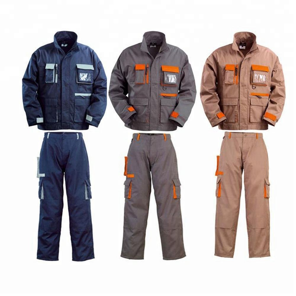 Wholesale professional khaki worker work core dhl workwear uniform