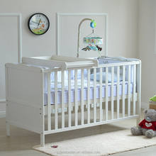 baby wooden bed infant cot baby crib with EN716 certification