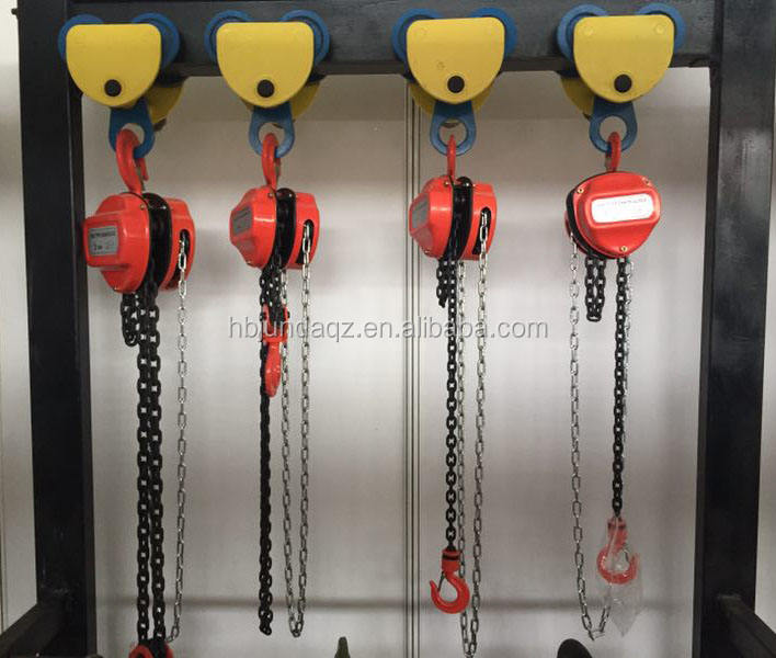 Factory cheap price HS-C 3 ton 5 ton manual chain block