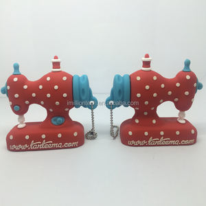 Home appliance shape PVC usb flash drive, Custom 3d sewing machines shape usb