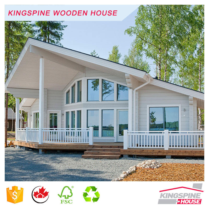 Cheap Popular Prefabricated Wooden Houses for living KPL-016