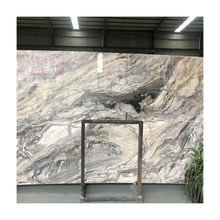 Factory Price Arabescato Orobico Grigio slab Marble stone with gold brown veins,Fantasia Brown Marble,Cipollino Marble Stone