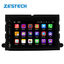 7inch 2din Android 9.0 Car DVD Player For Ford Fusion Explorer 500 F150 F250 F350 Edge Expedition GPS Navigation car radio multi