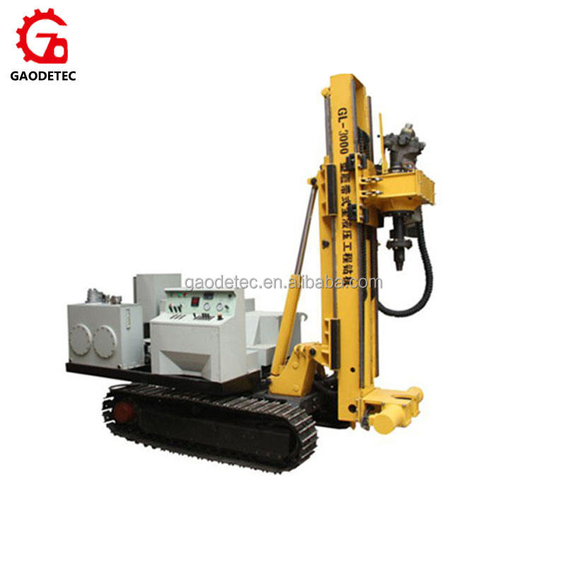 Full Hydraulic Crawler Multifunctional Use Widely Engineering Core Bore Drilling Machine