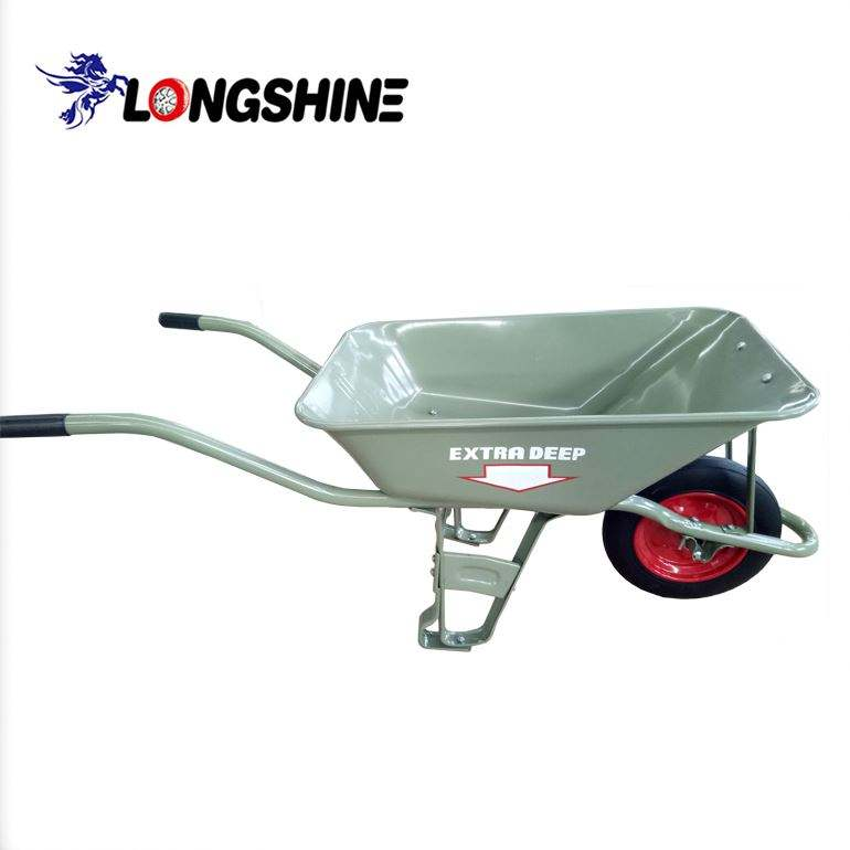 Stainless steel wheelbarrow irig stereo