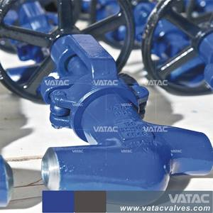 Rising Stem Butt Welded Power Station Globe Valve