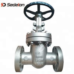 API 600 Handwheel Flanged Butt Weld 6 inch 8 inch Natural Gas Stem Gate Valves with Prices