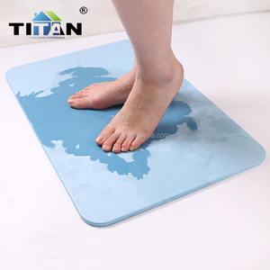 Hot Sales Thailand Non Slip Diatomite Bath Mat