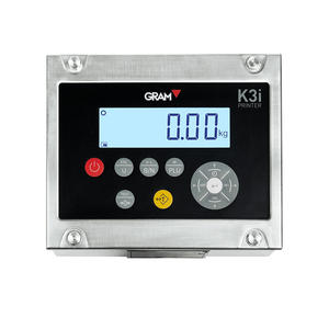 GRAM IP68 waterproof Stainless Steel Weight Indicator Weighing Scale Indicator with printer