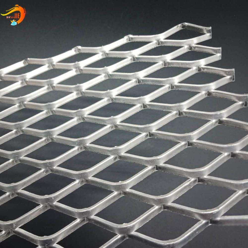 Good air circulation Expanded metal car grill