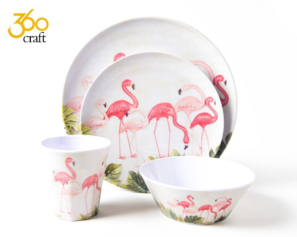 Superior quality customer design Christmas decoration Safety health melamine dish ware and mug