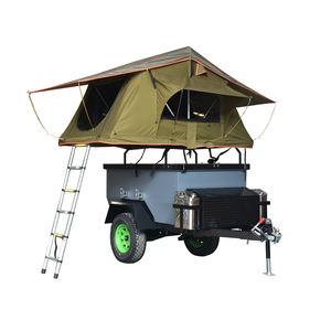 O Mais Popular dobrável usado reboque de campista com tenda, roda e lamas