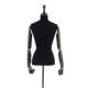 Half Body Black display Female Mannequin without head