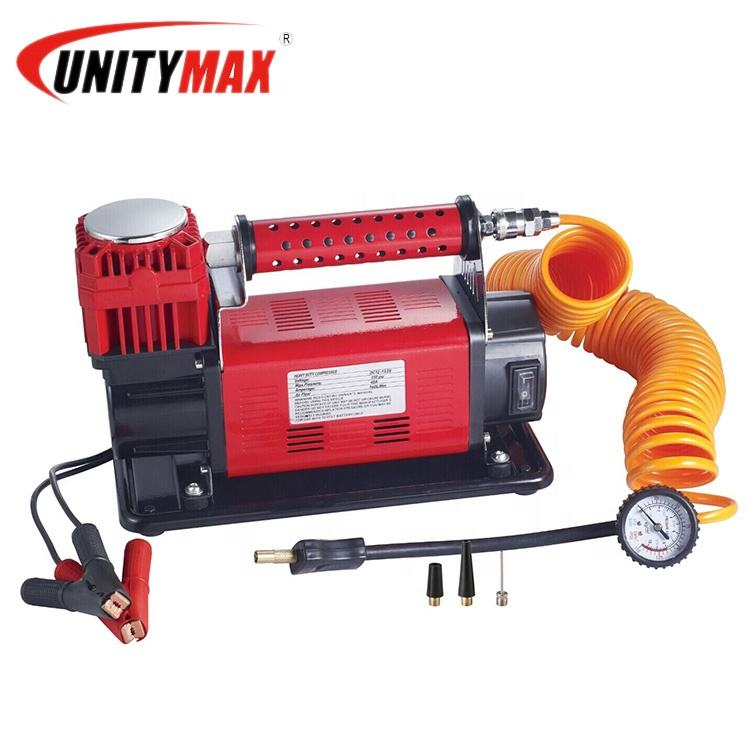 4X4 Truck 160L Draagbare Luchtcompressor Met 12V Of 24V Heavy Duty Air Compressor