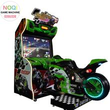 Indoor coin operated GP moto simulator motorcycle racing car game arcade machine