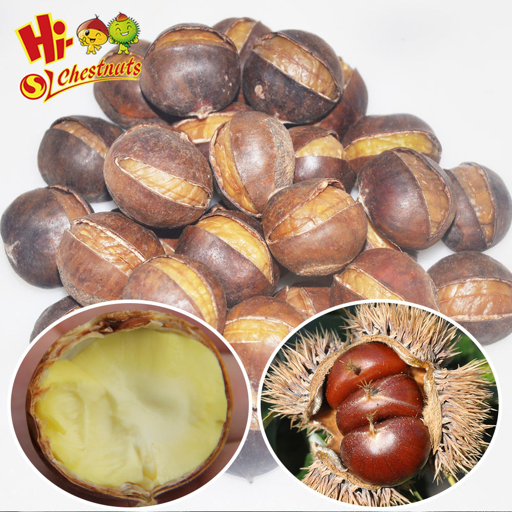 Wholesale OEM Snacks smiling chestnut