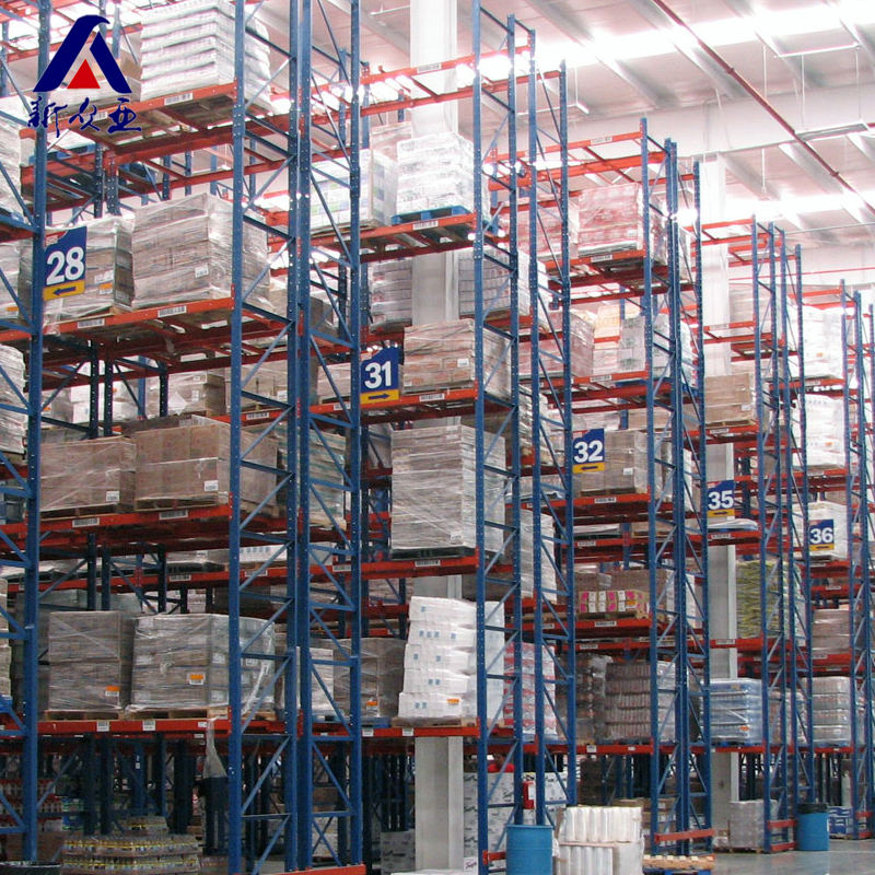 CE ISO TUV certificated double deep pallet rack for warehouse
